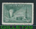 CANADA STAMP - OIL WELLS - SCOTT No 294, 0,50ç, DULL GREEN, 1950 - USED - - 1937-1952 Règne De George VI