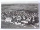 (71) - GY - VUE AERIENNE - AU 1er PLAN, L' EGLISE ET L' ECOLE MENANS - 1952 - France