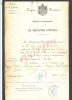 (U)MILITARIA < EMPIRE FRANCAIS < CERTIFICAT MEDAILLE COMMEMORATIVE DE LA CAMPAGNE D' ITALIE A BETHUNE 1859 NAPOLEON 3 . - Documentos Históricos