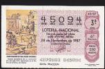 Lottery - Spain - Espana - Construction - Lottery Tickets