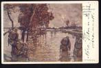 RED CROSS  ROTEN KREUZ    Military  War     Old Postcard - Rotes Kreuz