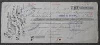 CHANGE G. ROUARET ET A. JOURDAN 1913 VINS DU MIDI ROUJAN HERAULT - Bills Of Exchange