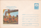 EQUIPMENT CONSTRUCTION EXHIBITION, 1980, COVER STATIONERY, ENTIER POSTALE, UNUSED, ROMANIA - Levant (Turquía)