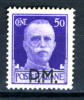 1942 - Regno -   Italia - Italy -  Sass. N. 7 - LH -  (J28012012.....) - Military Mail (PM)