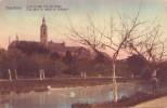 AVERBODE = Vue Dans Le Jardin De L'abbaye - Carte Couleur  (vierge) - Belgique