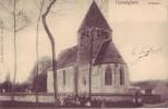 HUMELGHEM = L'église - Carte Animée (Nels  Bxl  S.11  N° 799) + Dépôt Relais Steenockerzeel - Belgique