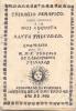 TRISAGIO SERAFICO PARA VENERAR A LA MUI AUGUSTA Y SANTA TRINIDAD COMPUESTO POR EL R.P.F. EUGENIO DE LASANTISIMA TRINIDAD - Religion & Occult Sciences