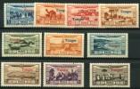 Maroc (1928) PA N 22 à 31 * (charniere) - Maroc (1891-1956)