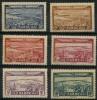 Maroc (1933) PA N 34 à 39 * (charniere) - Maroc (1891-1956)