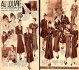 AU LOUVRE - Publicité De Novembre 1936 - [Thème Robes, Chapeaux, Gants, Manteaux]_L6 - Habits & Linge D'époque