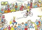 Savoie - Les Echelles - La Ruchère , 16e étape Cyclistes Tour De France 1984 , Pub Banania - Les Echelles