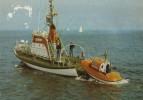 Vedette De Secours Allemande - CPM - Barche