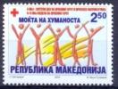 MK 2000-ZZ108 RED CROSS, MACEDONIA, 1 X 1v, MNH - Macedonië