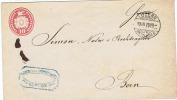 Entier Postal Tübli De 1870 N° U7 K2X1 En Excellent état - Entiers Postaux