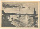 Cartolina Cattolica (RN) Tramonto Viagg. 1937 - Rimini