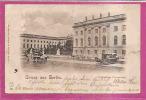 BERLIN   -   * GRUSS AUS BERLIN Mit  KÖNIGLICHE UNIVERSITÄT *   -   Verlag : SEEGERS & SEHRNDT   N° 821 - Mitte