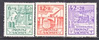 Prov. Sachsen 87a-89a   ** - Soviet Zone