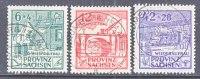 Prov. Sachsen 87a-89a   (o) - Soviet Zone
