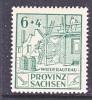 Prov. Sachsen 87  Unlisted Variety  * - Soviet Zone