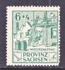 Prov. Sachsen 87 VI  Variety  ** - Soviet Zone