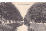 19912 TROYES Perspective Du Canal . Magasins Réunis