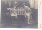 19918 Salon 1908 Fin Roman Par Alkan-levy . 2760 Dt ND Femme Table Repas - Peintures & Tableaux