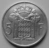 Cinq Francs 1960  Rainier III - Monaco
