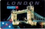 TARJETA DE ESTADOS UNIDOS DE CARDEX 95 (LONDRES) - Sin Clasificación