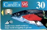 TARJETA DE ESTONIA DE CARDEX 96 DE UNOS PECES TIRADA 1000 (PEZ-FISH) (NUEVA-MINT) - Estonia