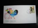 MARCOPHILIE LETTRE - Bourse Expo 33 Vayres 2005 - Année Du Coq - Postmark Collection (Covers)