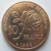 Dix Francs 1982 Grace De Monaco - 1960-2001 New Francs