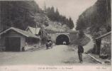 COL DE BUSSANG 6 LE TUNNEL (DOUANIER ET PONT MONTRANT LA LIMITE DU TERRITOIRE FRANCAIS) - Bussang