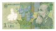 Banconota Da  1  LEU  ROMANIA - Anno 2005 - Roumanie