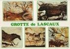 Postal Grotte De Lascaux, Pinturas Rupestres, Arqueología,Francia,  , Post Card - Antigüedad
