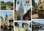 Postal, Vistas Varias Dinan  Francia, Post Card - Francia