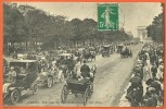 CPA - PARIS - AVENUE DU BOIS DE BOULOGNE -Arc De Triomphe - Belle Animation - ND Phot N° 2940 - Circulé 1911 - Arrondissement: 16