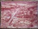 SAINT AIGNAN SUR ROE / VUE GENERALE AERIENNE / 1968 / COMBIER / COULEUR SEPIA - Saint Aignan Sur Roe