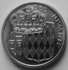 1/2 Franc 1976 Rainier III - Mónaco