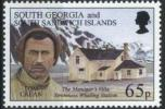 1996 South Georgia Tom Crean Whaling Station Michel 252 Paysaje Landscape MNH - Georgia Del Sud
