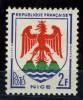 N°1184 Armoiries Nice - Francia