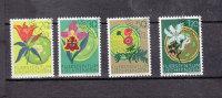 1970      N° 456 à 459   OBLITERES - Liechtenstein