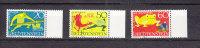 1969      N° 450 à 452   OBLITERES - Liechtenstein