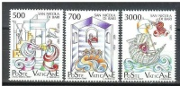 VATICANO 1987 9º Centenario Della Traslazione Delle Reliquie Di S.Nicola Da Myra A Bari Serie Cpl. 3v. Nuovi** - Vatican