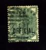 GREAT BRITAIN - 1882 QUEEN VICTORIA  ½ D. OVERPRINTED   I.R. OFFICIAL FINE USED - Servizio