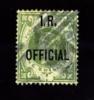 GREAT BRITAIN - 1889 QUEEN VICTORIA  1 S. OVERPRINTED   I.R. OFFICIAL FINE USED - Servizio