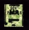 GREAT BRITAIN - 1890 QUEEN VICTORIA  1s. GREEN OVERPRINTED GOV.T PARCELS  USED - Servizio