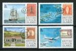 1987 British Virgin Island Bicentenario Del Servizio Postale Aerei Aircraft Avions SET MNH** C41 - British Virgin Islands