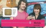 SIM CARD * GSM * T-MOBILE * MOBILE * WOMAN * GIRL * MAN * BOY * T-Mobile 02 * Czech Republic - Tchéquie