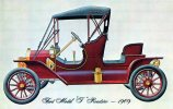 Ford Model T Runabout 1909, Henry Ford Museum, Michigan, Dexter Press Unused - Passenger Cars