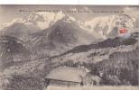 19975 Saint Gervais Les Bains . La Chaine Mont Blanc, Vue Chemin Mont Joly -M.B. 19 - Ferme - Saint-Gervais-les-Bains
